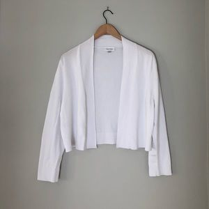 Calvin Klein Solid Shrug Cardigan